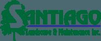 Santiago Landscape & Maintenance Inc. Logo